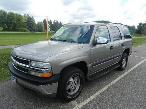 2002 Chevrolet Tahoe for sale at Dales Auto Sales in Hutchinson MN