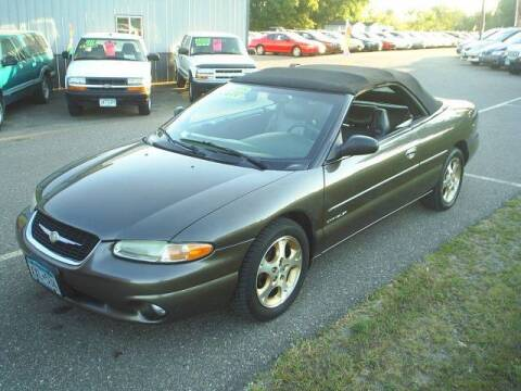 2000 Chrysler Sebring for sale at Dales Auto Sales in Hutchinson MN