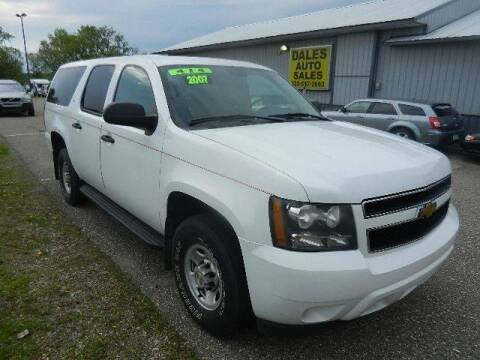 2007 Chevrolet Suburban for sale at Dales Auto Sales in Hutchinson MN