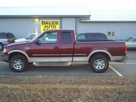 1998 Ford F-150 for sale at Dales Auto Sales in Hutchinson MN