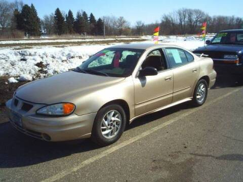 2003 Pontiac Grand Am for sale at Dales Auto Sales in Hutchinson MN