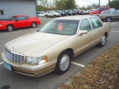 1998 Cadillac DeVille for sale at Dales Auto Sales in Hutchinson MN