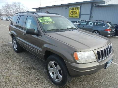 2001 Jeep Grand Cherokee for sale at Dales Auto Sales in Hutchinson MN