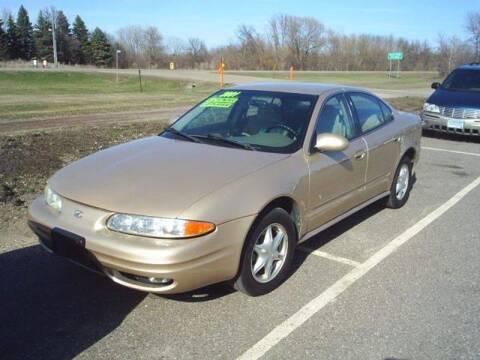 2001 Oldsmobile Alero for sale at Dales Auto Sales in Hutchinson MN