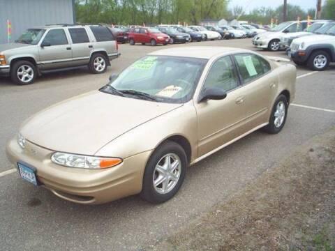 2003 Oldsmobile Alero for sale at Dales Auto Sales in Hutchinson MN