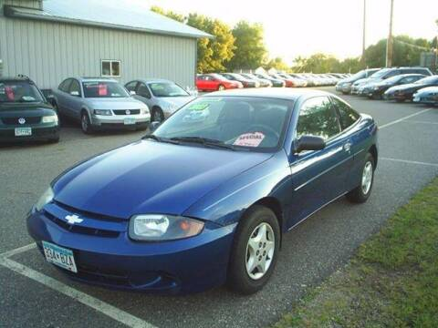 2003 Chevrolet Cavalier for sale at Dales Auto Sales in Hutchinson MN