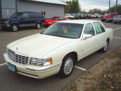 1999 Cadillac DeVille for sale at Dales Auto Sales in Hutchinson MN