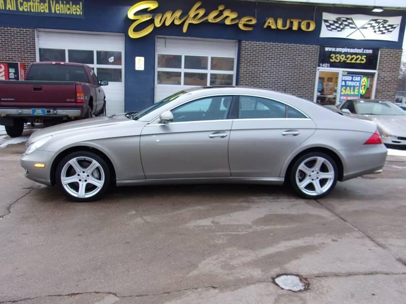 2006 mercedes benz cls cls 500 4dr sedan in sioux falls sd empire auto sales. Black Bedroom Furniture Sets. Home Design Ideas
