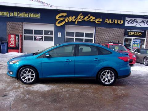 2015 Ford Focus SE for sale at Empire Auto Sales in Sioux Falls SD