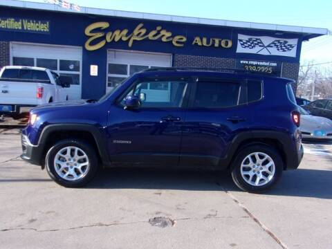 2017 Jeep Renegade Latitude for sale at Empire Auto Sales in Sioux Falls SD