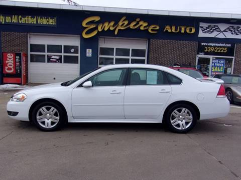 2011 Chevrolet Impala LT Fleet for sale at Empire Auto Sales in Sioux Falls SD