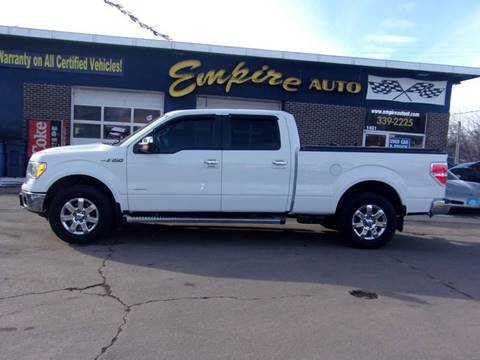 2013 Ford F-150 Lariat for sale at Empire Auto Sales in Sioux Falls SD