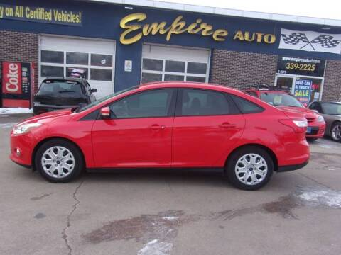 2012 Ford Focus SE for sale at Empire Auto Sales in Sioux Falls SD
