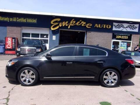 2013 Buick LaCrosse Premium 1 for sale at Empire Auto Sales in Sioux Falls SD
