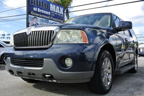 2003 Lincoln Navigator for sale in Melbourne, FL
