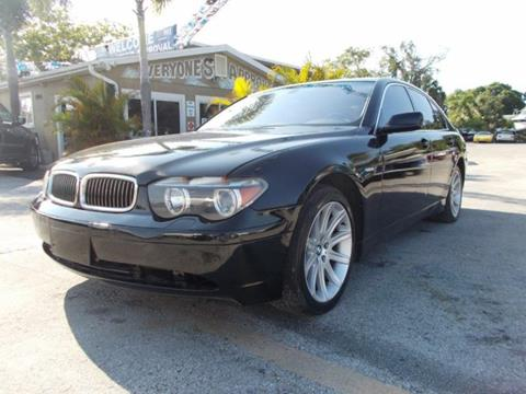 2002 BMW 7 Series for sale in Melbourne, FL