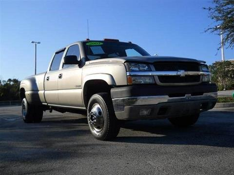 2003 Chevrolet Silverado 3500 for sale in Melbourne, FL