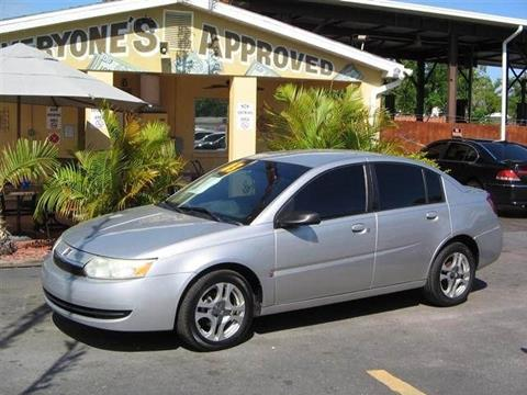 2003 Saturn Ion for sale in Melbourne, FL