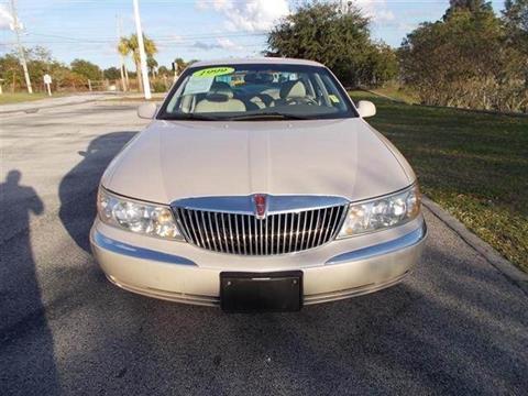 1999 Lincoln Continental for sale in Melbourne, FL