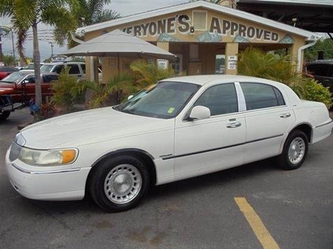 2001 Lincoln Continental for sale in Melbourne, FL