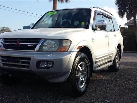 2001 Mitsubishi Montero for sale in Melbourne, FL