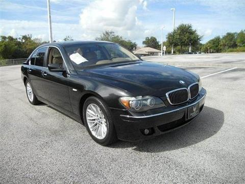 2006 BMW 7 Series for sale in Melbourne, FL