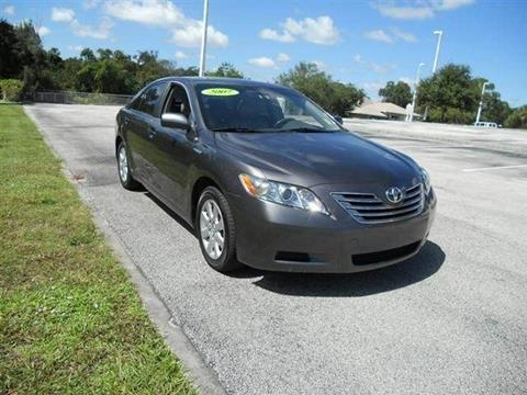 2007 Toyota Camry Hybrid for sale in Melbourne, FL