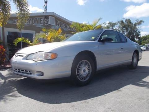2002 Chevrolet Monte Carlo for sale in Melbourne, FL