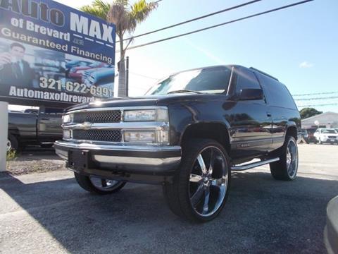 1997 Chevrolet Tahoe for sale in Melbourne, FL