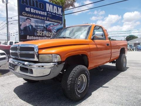 1996 Dodge Ram Pickup 1500 for sale in Melbourne, FL