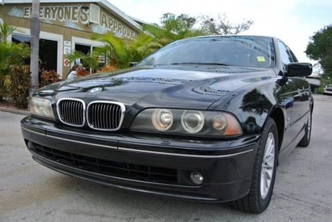 2002 BMW 5 Series for sale in Melbourne, FL