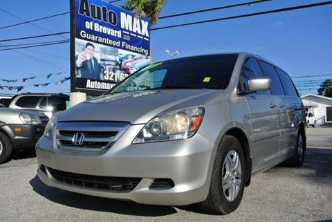 2007 Honda Odyssey for sale in Melbourne, FL