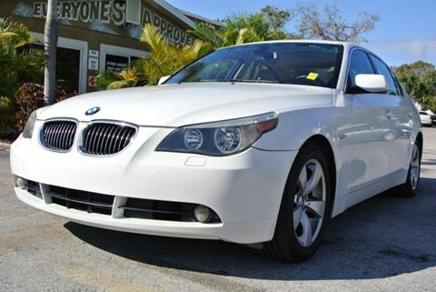 2007 BMW 5 Series for sale in Melbourne, FL