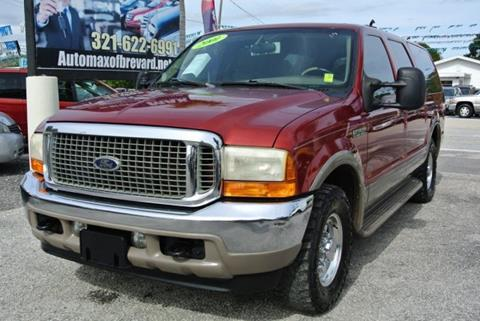 2001 Ford Excursion for sale in Melbourne, FL