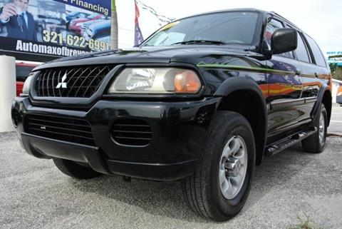 2003 Mitsubishi Montero Sport for sale in Melbourne, FL