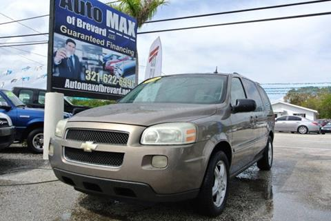 2006 Chevrolet Uplander for sale in Melbourne, FL