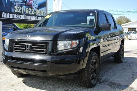 2008 Honda Ridgeline for sale in Melbourne, FL