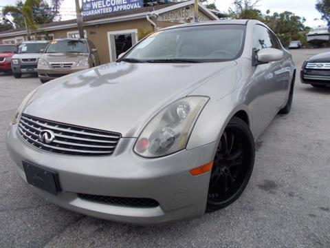 2003 Infiniti G35 for sale in Melbourne, FL
