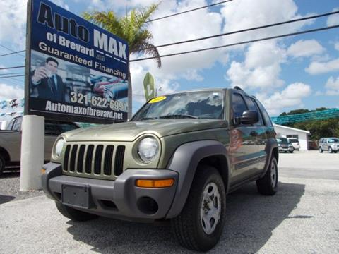 2003 Jeep Liberty for sale in Melbourne, FL