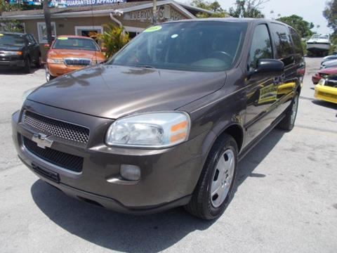 2008 Chevrolet Uplander for sale in Melbourne, FL