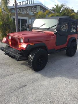 1990 Jeep Wrangler for sale in Melbourne, FL