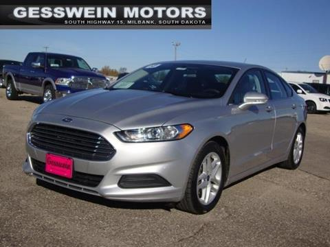 2013 Ford Fusion for sale in Milbank, SD