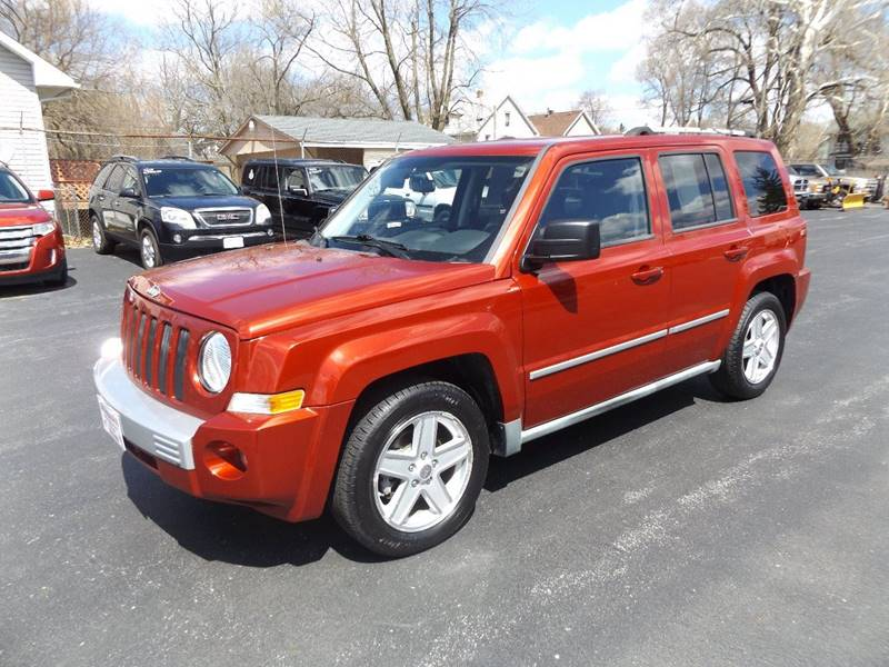 2010 jeep patriot warning lights