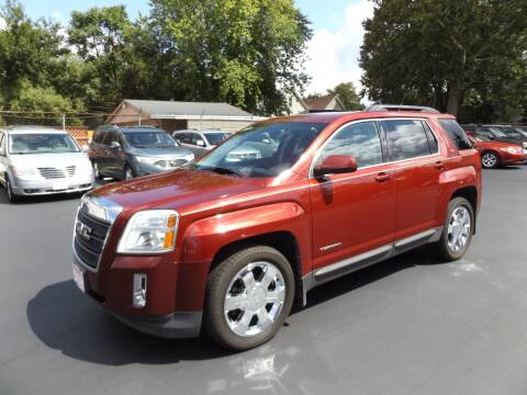 2011 GMC Terrain for sale at Goodman Auto Sales in Lima OH