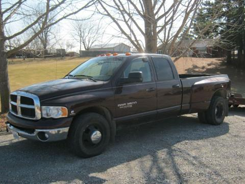 2005 Dodge Ram Pickup 3500 for sale at Greg Vallett Auto Sales in Steeleville IL