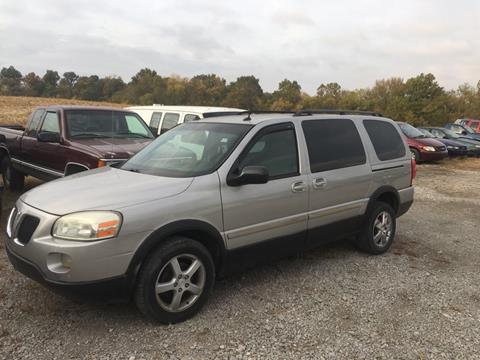2005 Pontiac Montana SV6 for sale at Greg Vallett Auto Sales in Steeleville IL