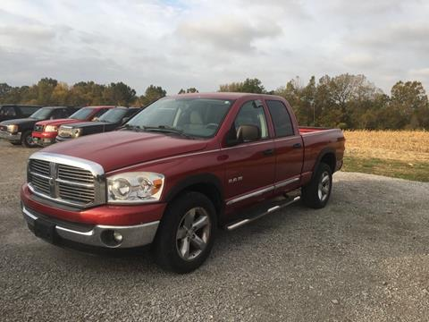 2008 Dodge Ram Pickup 1500 for sale at Greg Vallett Auto Sales in Steeleville IL