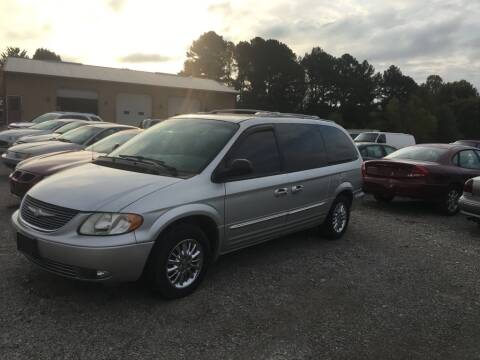 2002 Chrysler Town and Country for sale at Greg Vallett Auto Sales in Steeleville IL