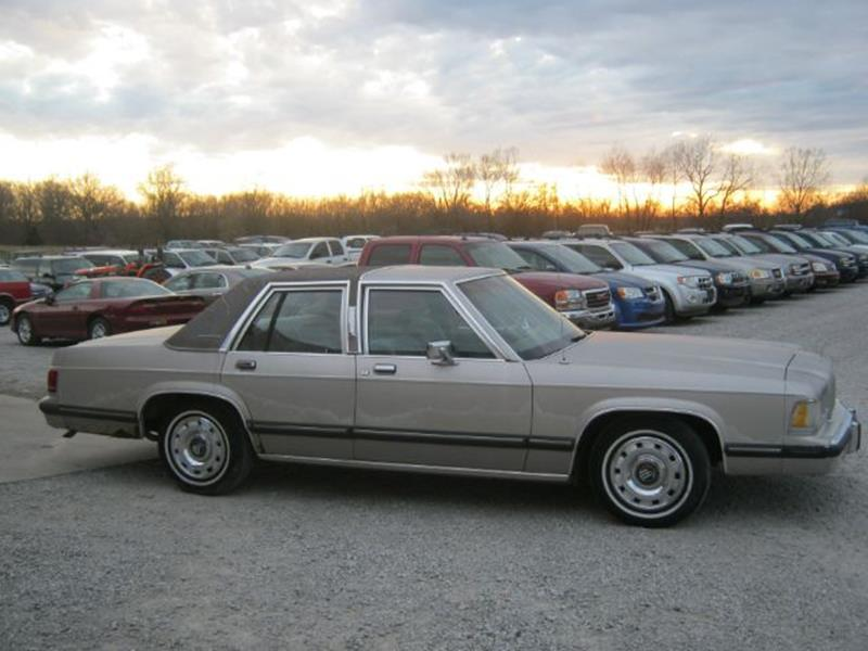 1991 Mercury Grand Marquis LS 4dr Sedan In Steeleville IL  Greg