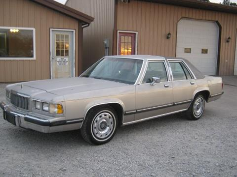 1991 Mercury Grand Marquis For Sale  Carsforsalecom